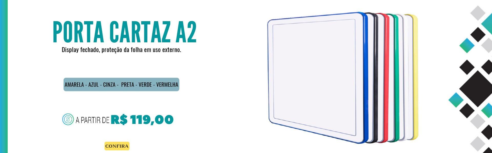 Porta cartaz A2