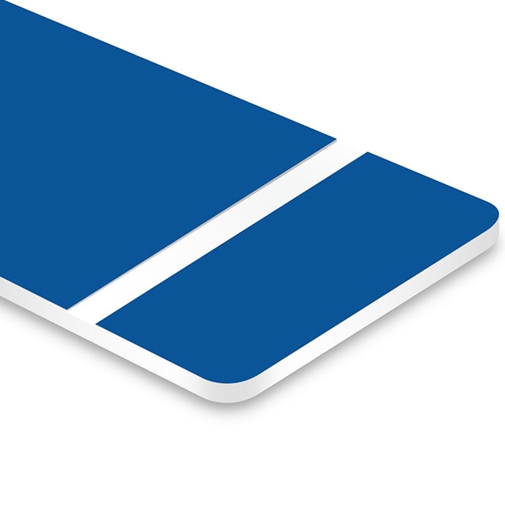 Chapa ABS Dupla Camada Azul/Branco - 610x300x1.5mm