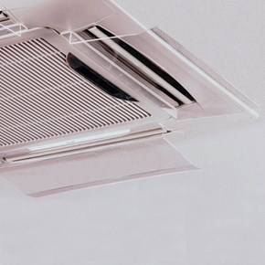 Defletor para Ar Condicionado Cassete 50cm