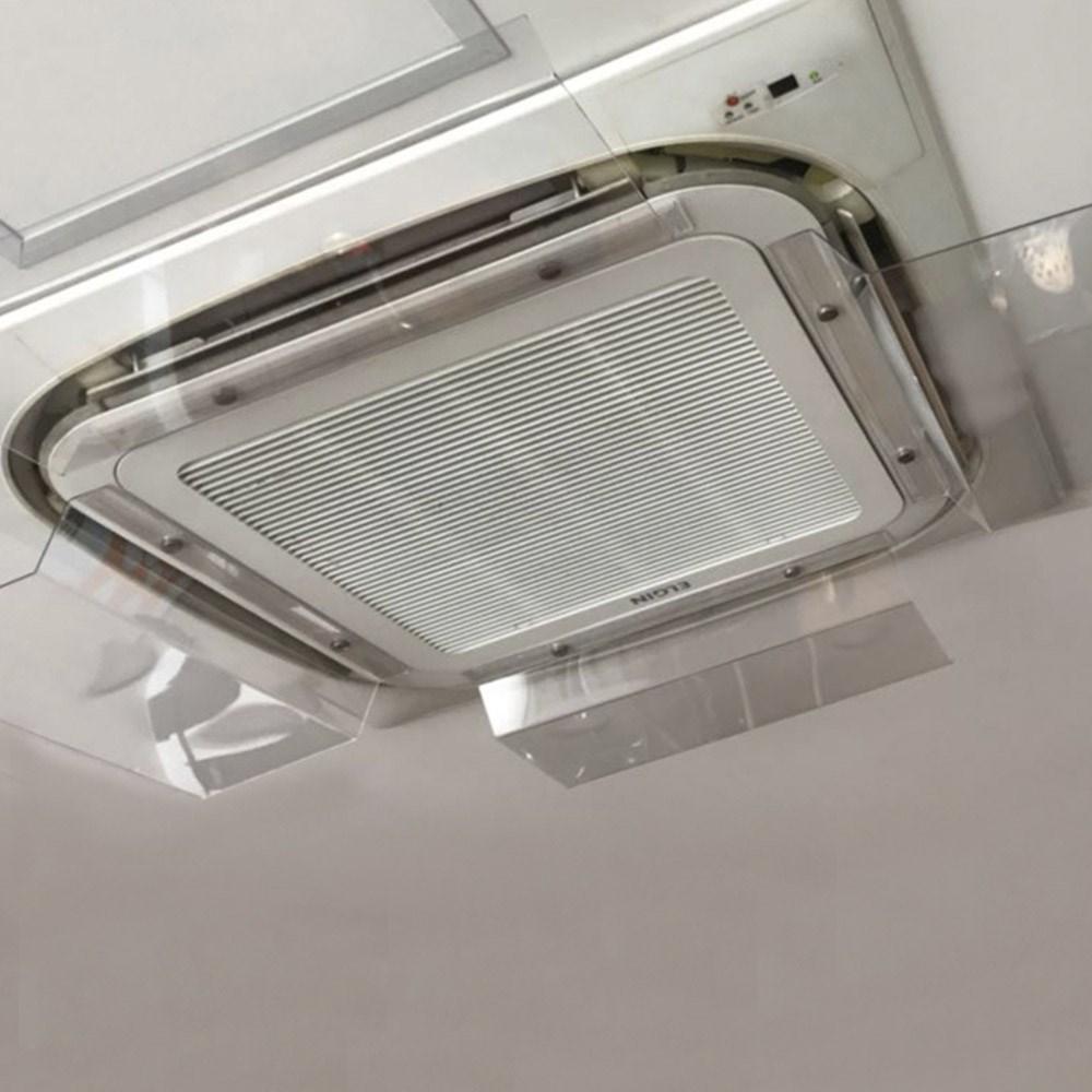 Defletor para Ar Condicionado Cassete 55cm