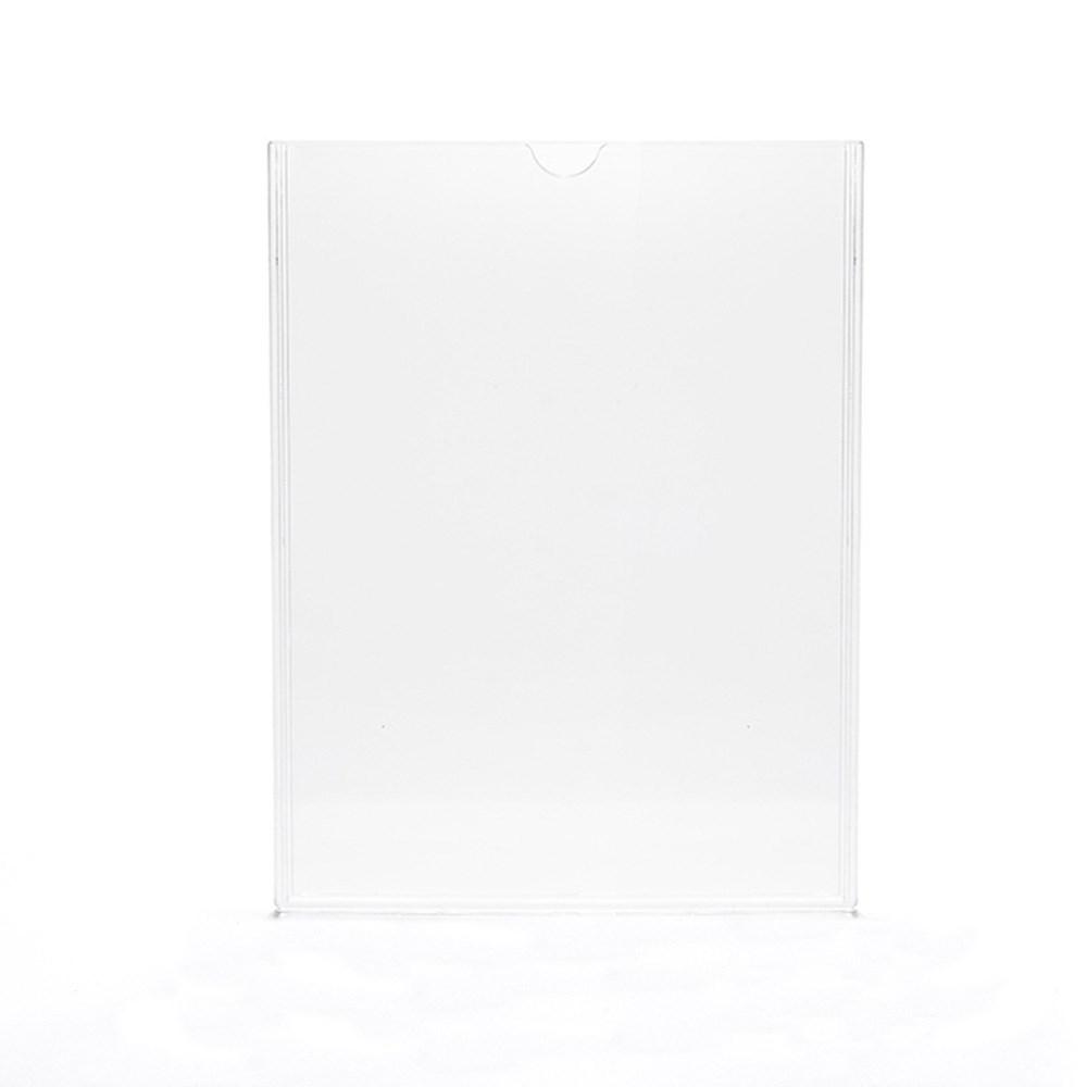 Display em Acrílico Duplo A4 Vertical (21x30cm)