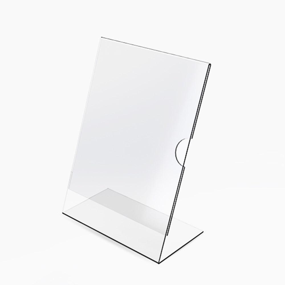 Display em Acrílico Tipo L A3 (42x30cm)