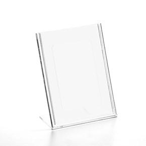 Display em Acrílico Tipo L A6 Vertical (10x15cm)