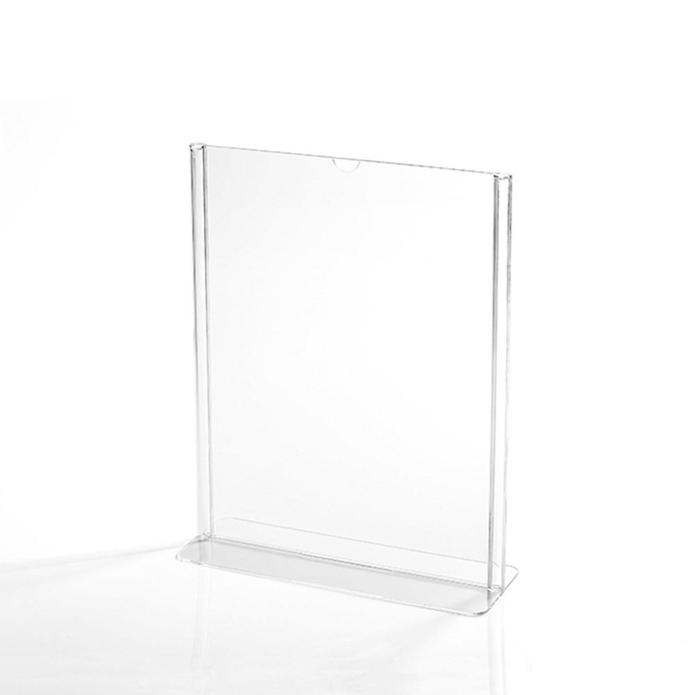 Display em Acrílico Tipo T A5 Vertical (15x21cm)