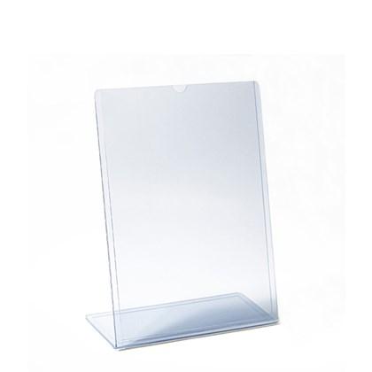 Display transparente Tipo L A5 Vertical (15x21cm)