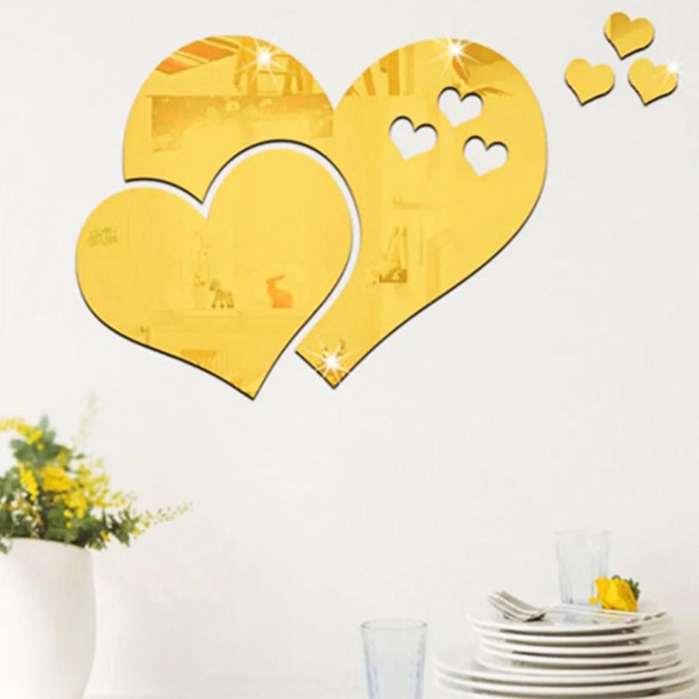 Espelho Decorativo Corações