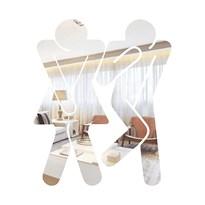 Espelho Decorativo Identificação para Banheiro