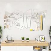 Produto Espelho Decorativo Mapa Mundi