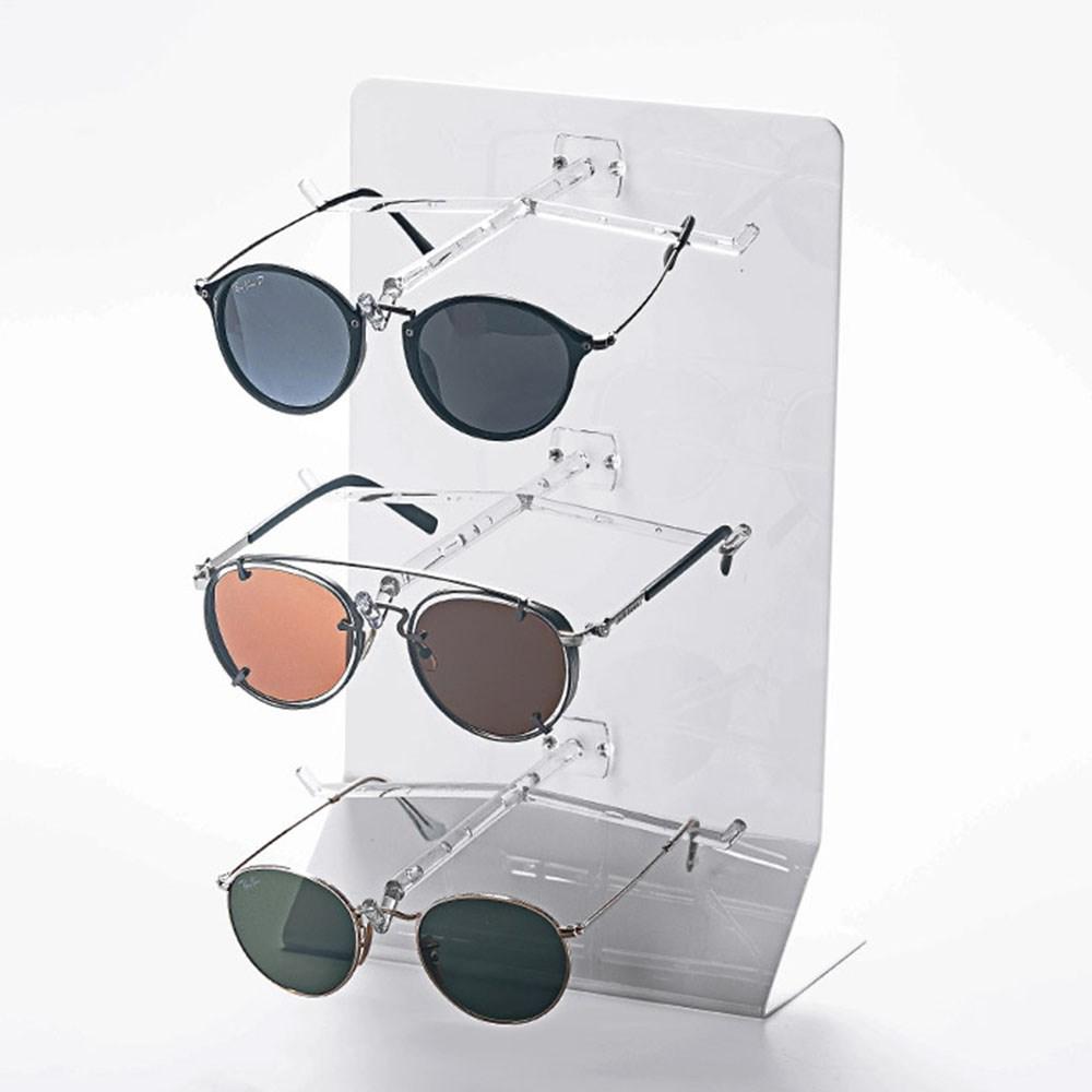 Expositor de Balcão para 3 Óculos