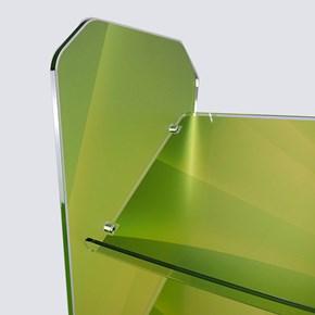Expositor Porta Folders de Chão