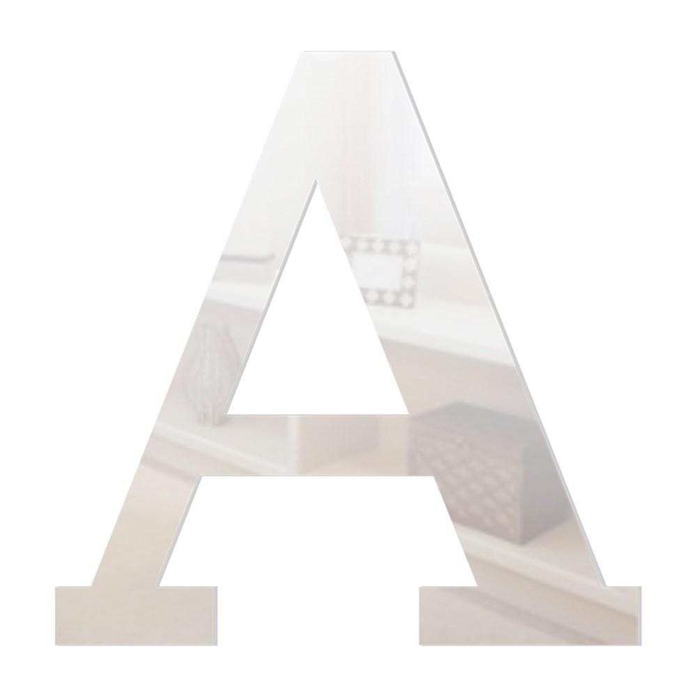 Letra em Acrílico Espelhado - A