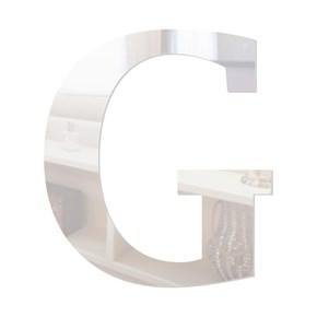Letra em Acrílico Espelhado - G