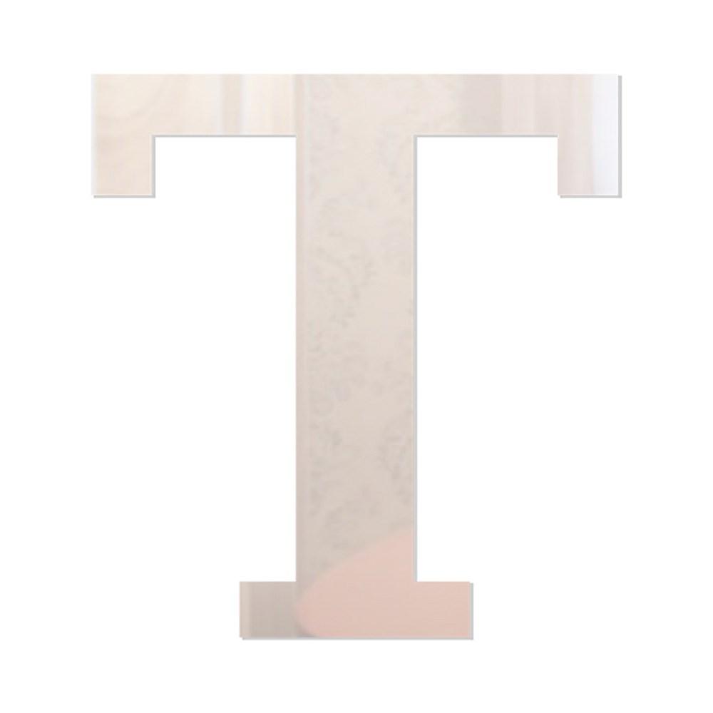 Letra em Acrílico Espelhado - T