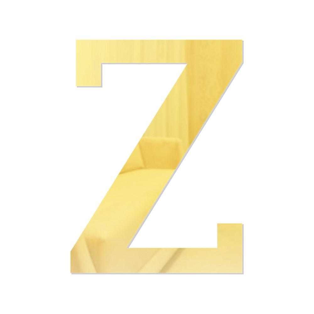 Letra em Acrílico Espelhado - Z