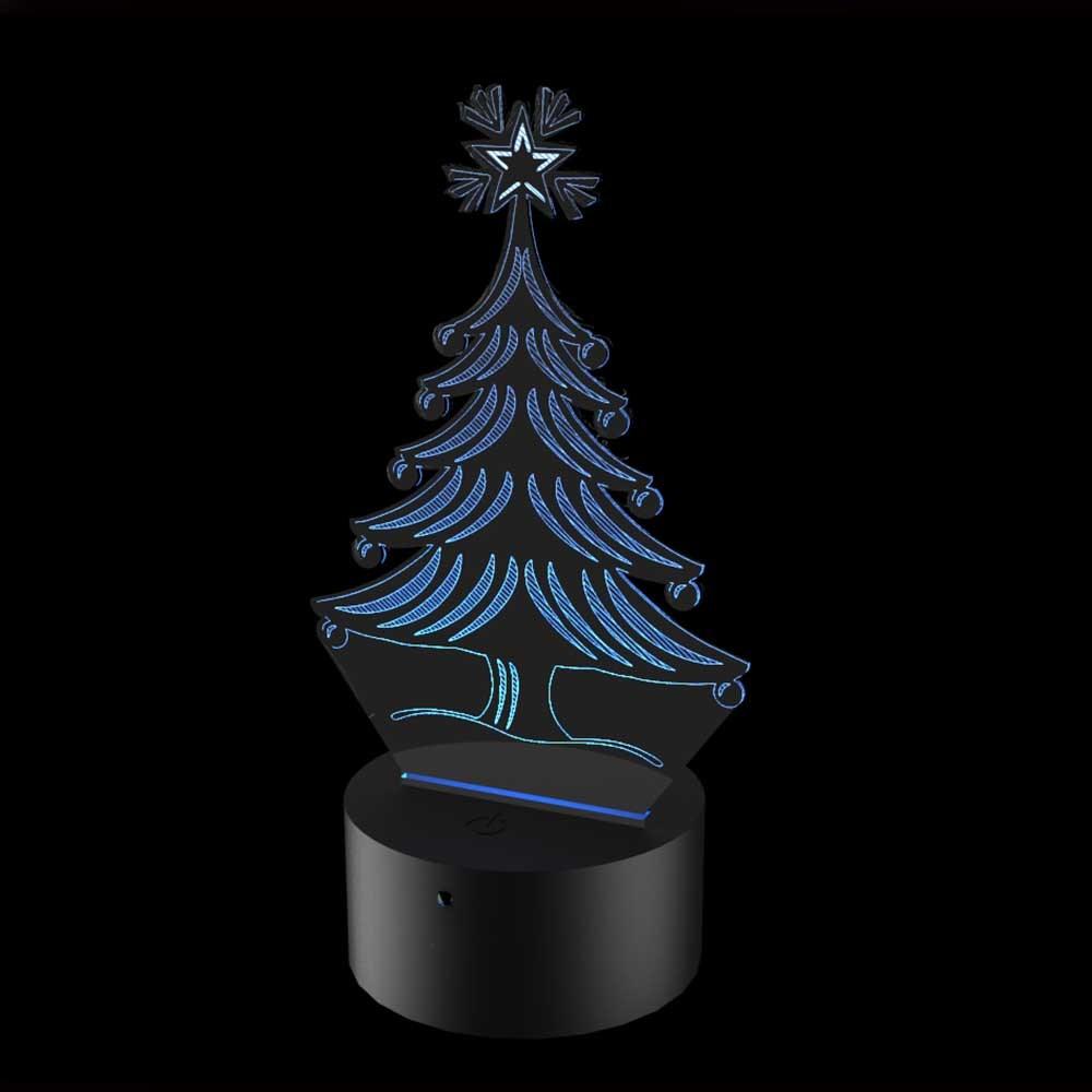 Luminária de Led - Árvore de Natal