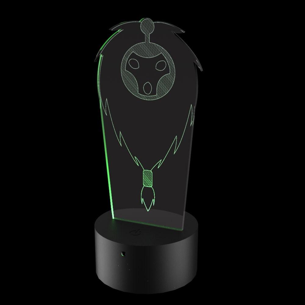 Luminária de Led - Bardo League Of Legends