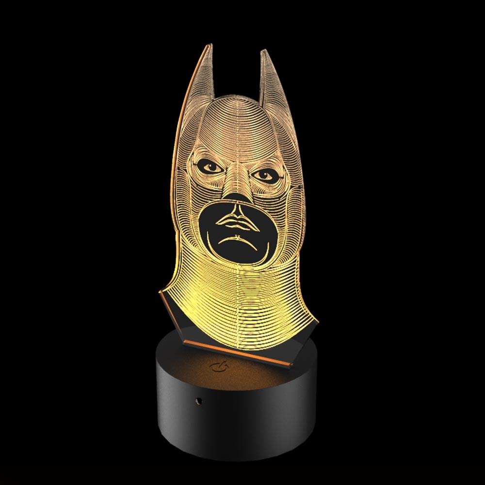Luminária de Led - Batman