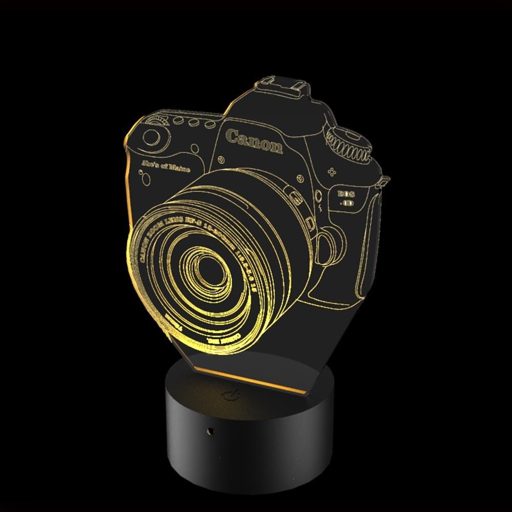 Luminária de Led - Câmera Fotográfica
