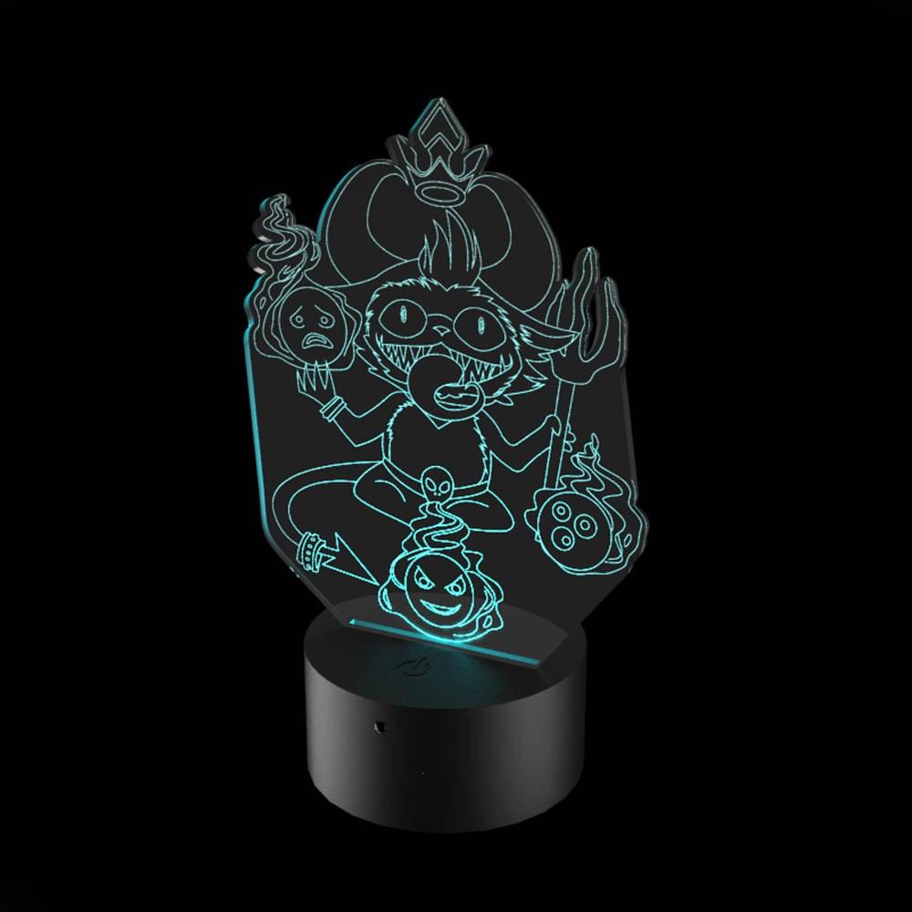 Luminária de Led - Capeteemo League Of Legends