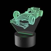 Produto Luminária de Led - Carro Fórmula 1