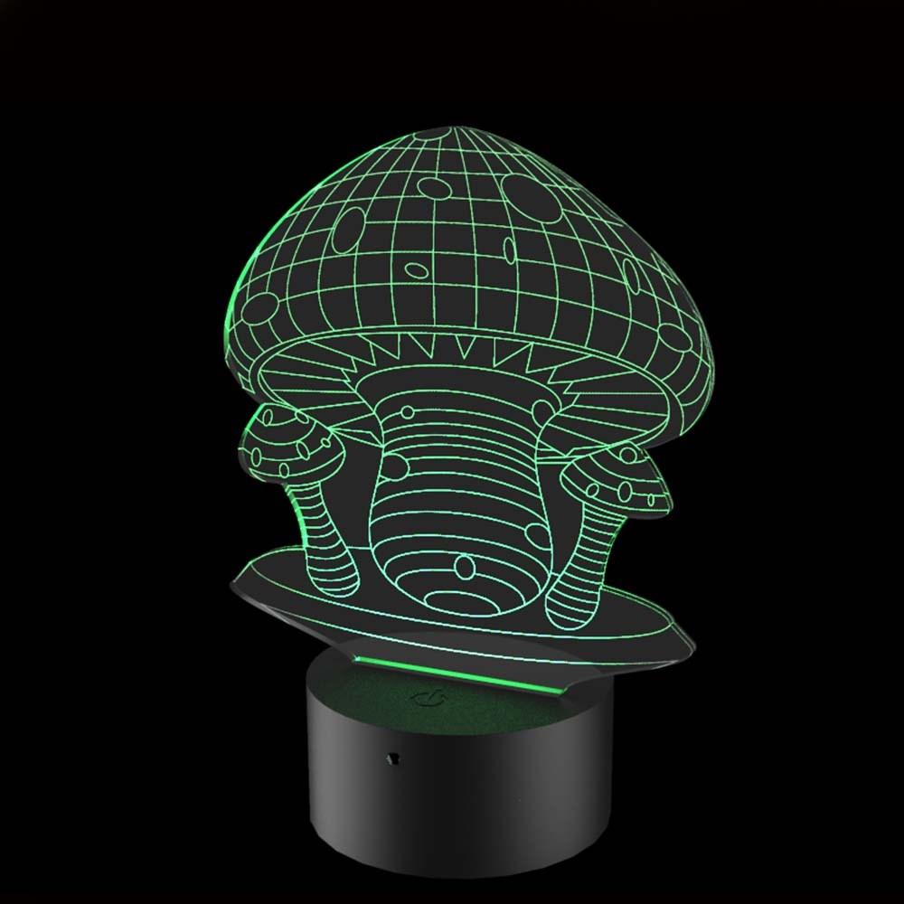 Luminária de Led - Cogumelos