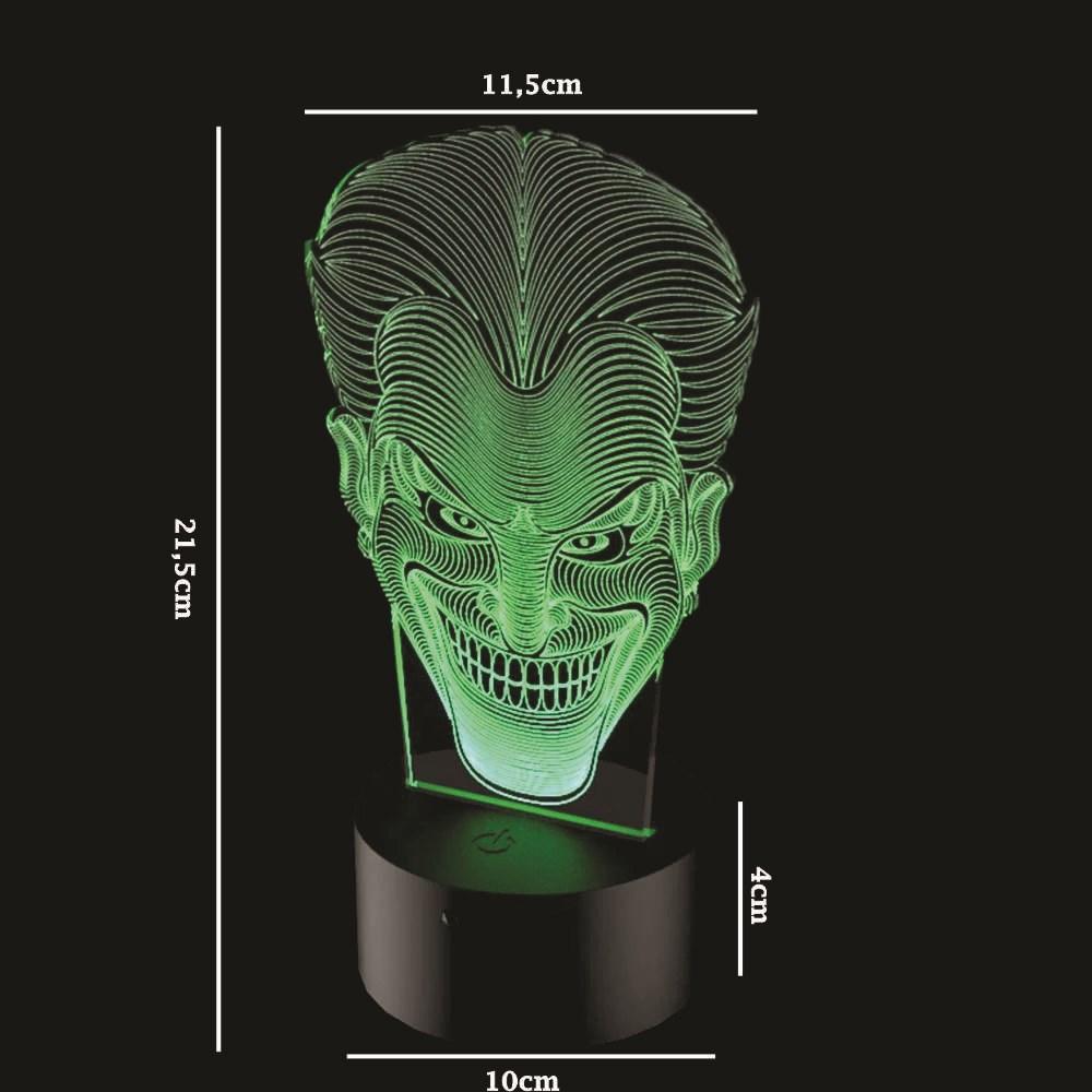 Luminária de Led - Coringa