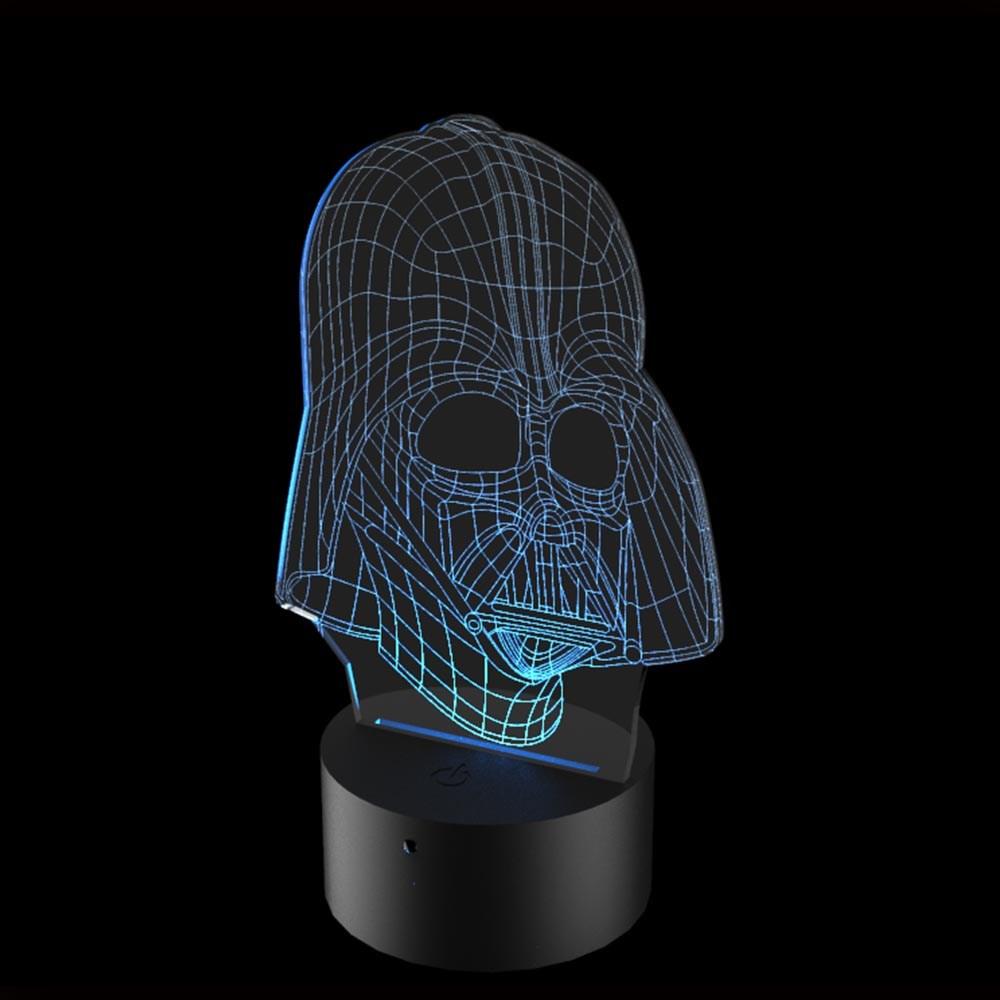Luminária de Led - Darth Vader