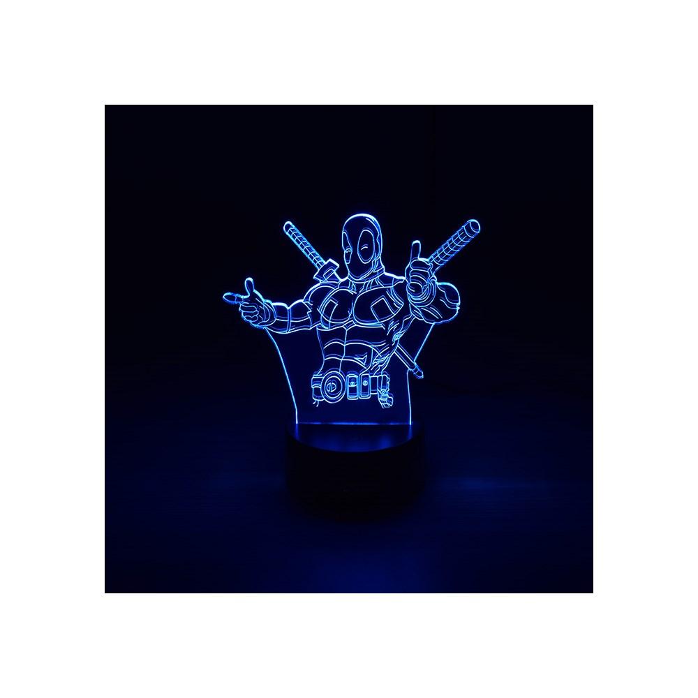 Luminária de Led - Deadpool