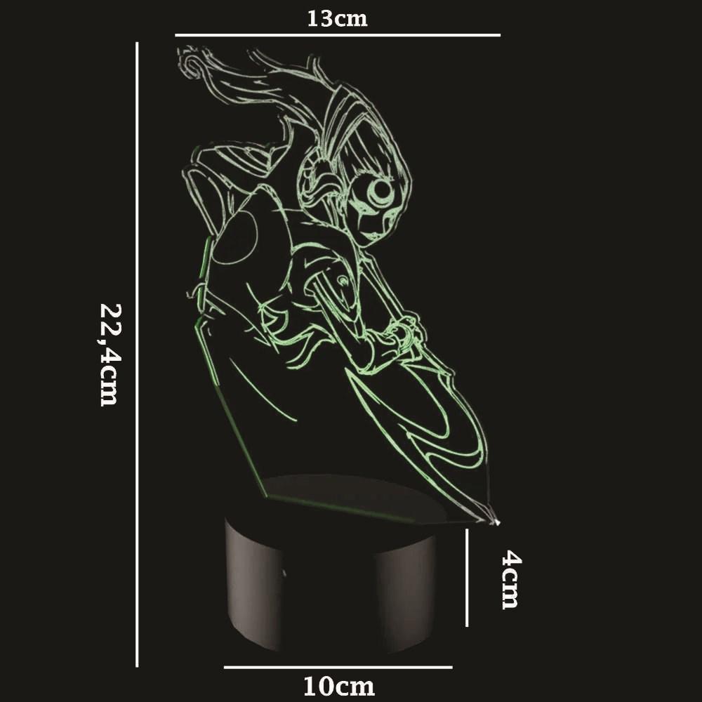 Luminária de Led - Diana League Of Legends
