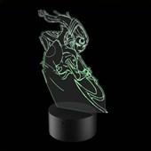 Produto Luminária de Led - Diana League Of Legends