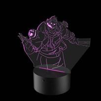 Luminária de Led - Dr. Mundo League Of Legends