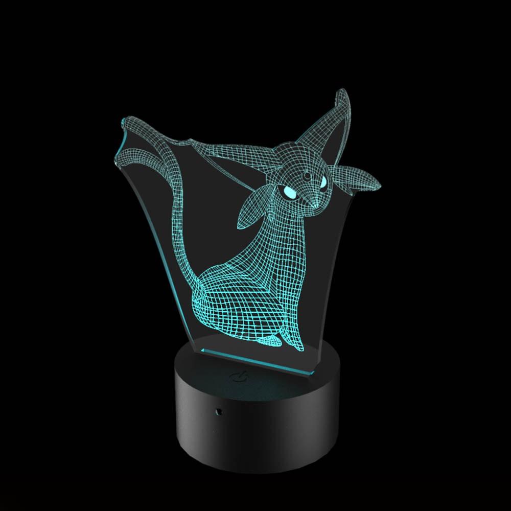 Luminária de Led - Espeon Pokémon
