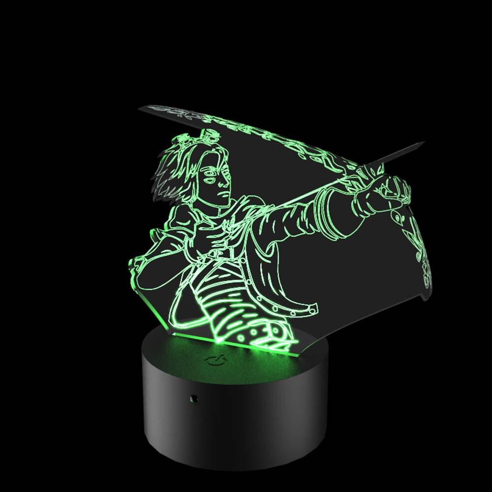 Luminária de Led - Ezreal League Of Legends