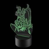 Produto Luminária de Led - Fiddlestick League Of Legends