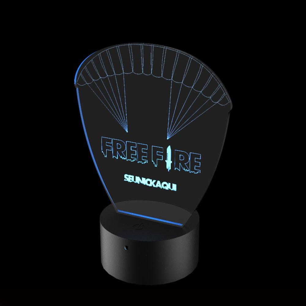 Luminária de Led - Free Fire