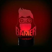 Luminária de Led - Geek Game Head