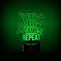 Luminária de Led - Geek Game Looping