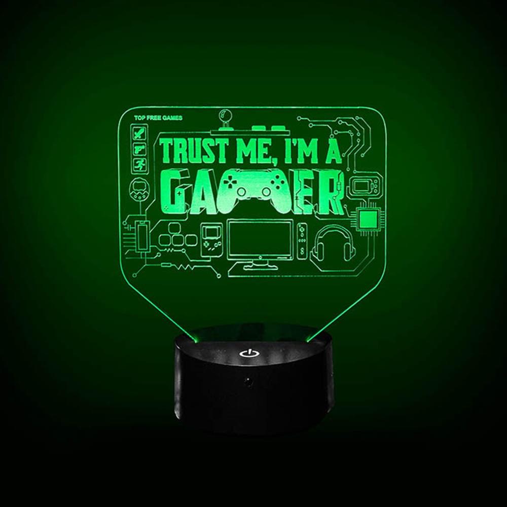 Luminária de Led - Geek Trust Me