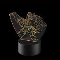Luminária de Led - Graves Atirador League Of Legends