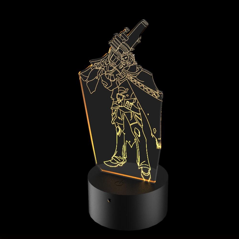 Luminária de Led - Graves League Of Legends