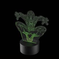 Luminária de Led - Homem Aranha