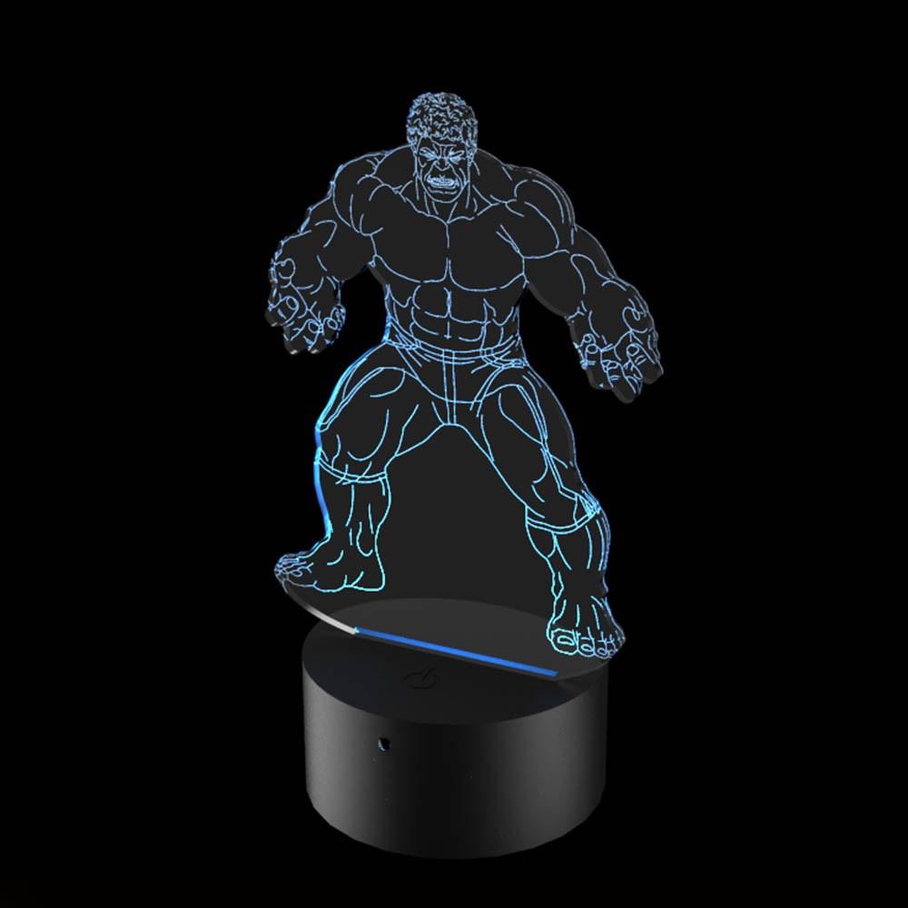 Luminária de Led - Hulk