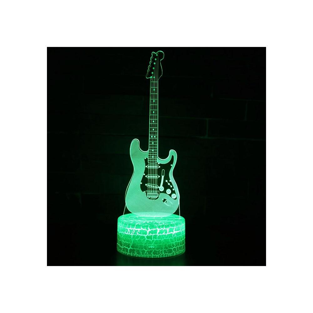 Luminária de Led - Instrumento Guitarra