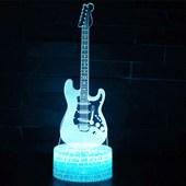 Produto Luminária de Led - Instrumento Guitarra