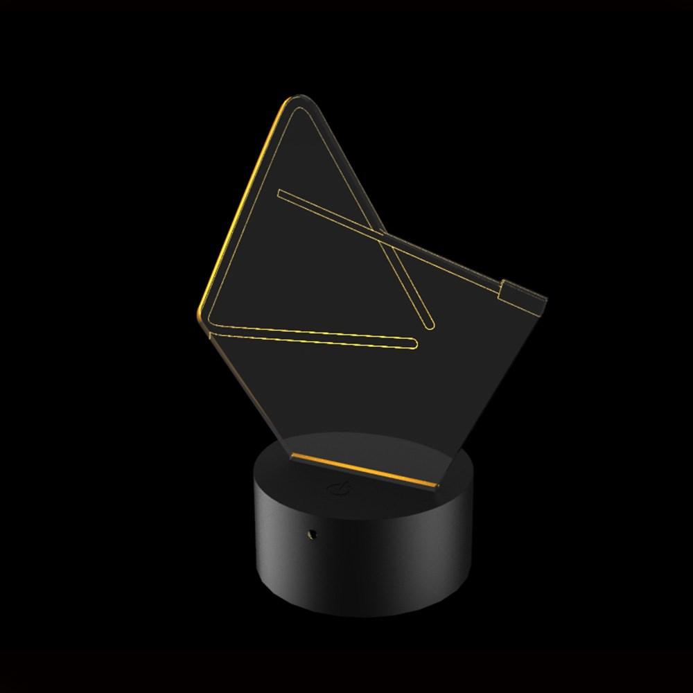 Luminária de Led - Instrumento Triângulo