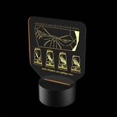 Produto Luminária de Led - Jhin League Of Legends