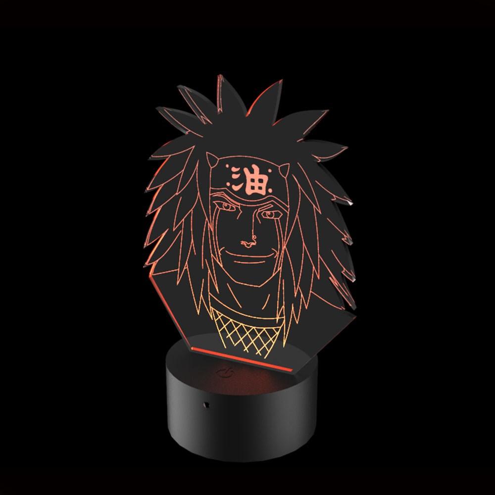 Luminária de Led - Jiraya Naruto
