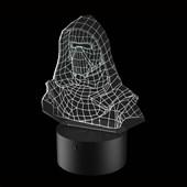 Produto Luminária de Led - Kylo Ren Bust Star Wars