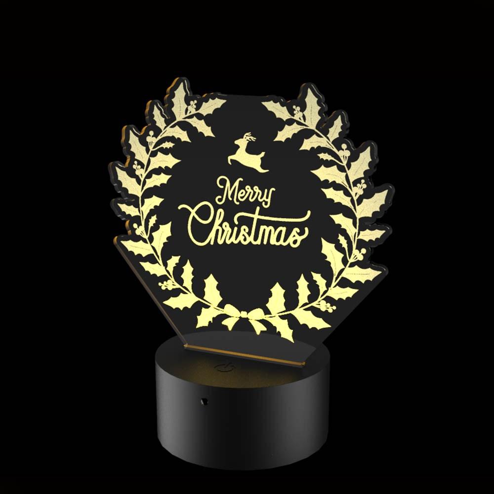 Luminária de Led - Merry Christmas