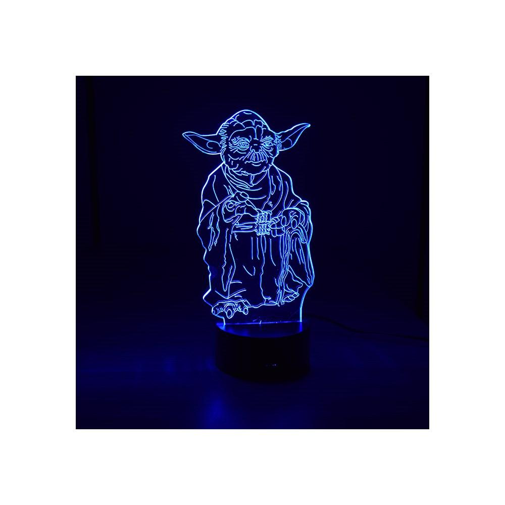 Luminária de Led - Mestre Yoda Star Wars